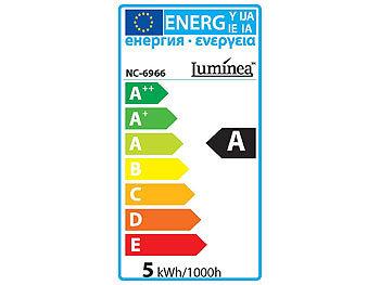 Elegante Retro-Stehleuchte warmwei/ß im SMD-LED-Stromsparpaket Stehlampe LED Lunartec Stehlampe