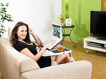 Und Freizeittisch Mobiler Sofa-Rahmen Fr/ühst/ückstablett 2 Gr/ö/ßen Farbe : Schwarz, gr/ö/ße : 51x43cm PENGFEI Tische /Laptop /Schreibtisch Faltbar Bett Unterhaltungs