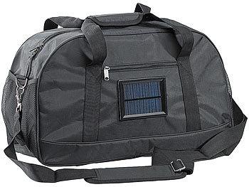 Solar-Reise- und Sporttasche mit Ladefunktion für Mobiltelefone / Reisetaschen