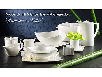 rosenstein s hne tafelservice ku i aus 45 bone china 6 personen. Black Bedroom Furniture Sets. Home Design Ideas