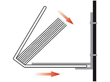 Wandregal bücher unsichtbar  infactory Buch Regal: Unsichtbares Bücherregal aus Metall, 3er-Set ...