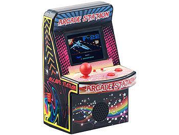 Mobile Games Technology Handlicher Retro-Videogame-Automat, 200 Spiele, LCD-Farb-Display, Akku 4