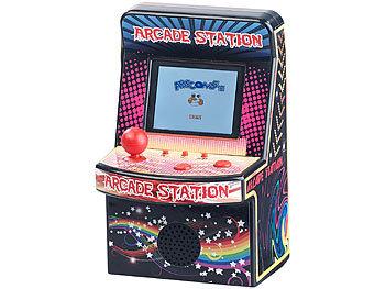 Mobile Games Technology Handlicher Retro-Videogame-Automat, 200 Spiele, LCD-Farb-Display, Akku 6