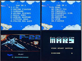 Mobile Games Technology Handlicher Retro-Videogame-Automat, 200 Spiele, LCD-Farb-Display, Akku 7