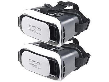 2er-Set Virtual-Reality-Brillen für Smartphones, 3D-Justierung / Vr Brille