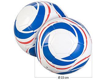2er-Set Trainings-Fussbälle aus Kunstleder, 22 cm Ø, Grösse 5, 440 g / Ball