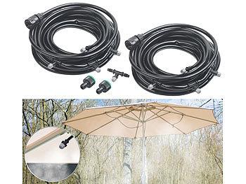 Bestlymood Wasserspray Kit Wasser Nebel Garten Vernebler Spr/üH System im Freien Wasser Nebel f/ür Gew?Chs Haus Garten Terrasse Bew?Sserung Bew?Sserung 20 Meter