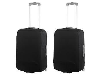 2er-Set elastische Schutzhülle für Koffer bis 42 cm Höhe, Grösse S / Schutzhülle