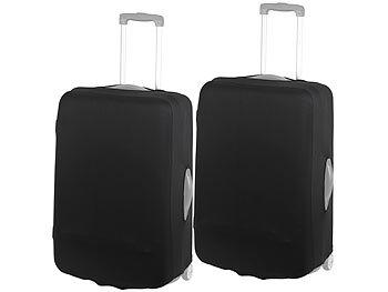 2er-Set elastische Schutzhülle für Koffer bis 63 cm Höhe, Grösse L / Kofferschutzhülle