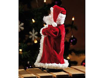 Infactory Singender Tanzender Weihnachtsmann Swinging Santa 28 Cm Singende Und Tanzende