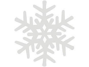 Schneeflocken-Fensterdeko