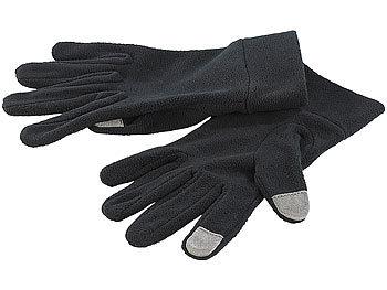 Touchscreen-Handschuhe aus kuscheligem Fleece, Gr. 6,5 (S) / Handschuhe