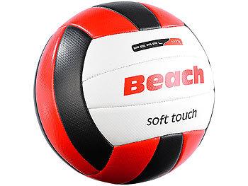 Beachvolleyball, griffige Soft-Touch-Oberfläche, Kunstleder, 20,5 cm Ø / Volleyball