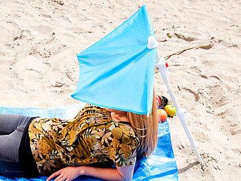 Infactory Mini Sonnenschirm Kleiner Fächer Sonnenschirm Für