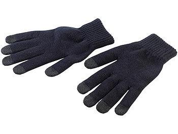 Strick-Handschuhe mit 5 Touchscreen-Fingerkuppen Gr. XL / Handschuhe