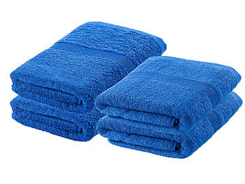 wilson gabor handtuchset handtuch set 2x 50x100 cm 2x 140x70 cm blau handtuch f r wellness. Black Bedroom Furniture Sets. Home Design Ideas