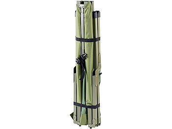 Semptec Urban Survival Technology 4in1-Zelt inklusive Schlafsack, Matratze & Campingliege, wasserdicht Semptec Urban Survival Technology Feldbett Zelte
