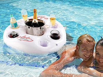 Poolbar schwimmend Schwimmende Party-Wasser-Bar Versandrückläufer