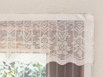 infactory fliegengitter t r selbstschlie endes premium fliegennetz f r t ren wei m ckenvorhang. Black Bedroom Furniture Sets. Home Design Ideas