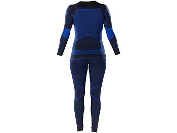 PEARL sports Damen-Thermo-Funktionsunterwäsche mit Kompression, Gr. M PEARL sports Damen Thermo-Funktionsunterwäsche mit Kompression