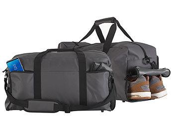 2er-Set Sport- & Reisetaschen, 4 Aussenfächer, Schmutzwäsche-/Schuhfach / Reisetasche