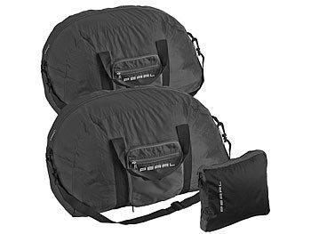 2er-Set leichte Falt-Reisetaschen für Handgepäck, 63 l / Reisetasche