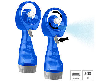 Ventilator mit Sprühfunktion