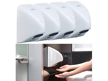 4er-Set automatische elektrischer Händetrockner zur Wandmontage / Handtrockner