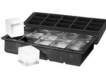 Big Giant Jumbo Große Silikon Eiswürfelform Quadratische Formschale DIY MakODB2H