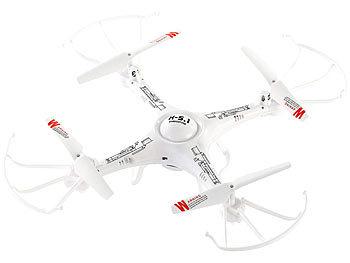 4-CH-Quadrocopter GH-4.HD-CAM mit HD-Kamera und farbigen LEDs / Drohne