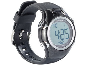 Fitness-Uhr, 3 Intensitätsstufen, LCD-Display, Stoppuhr-Funktion, IPX4 / Fitnessuhr