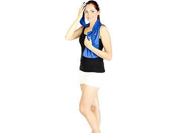 f/ür Sport Gym Yoga Camping Laufen Fitness Workout Super Mikrofaser Handtuch Eistuch f/ür Hals Sofortk/ühlung FANMU 1Pcs K/ühlen Sporttuch