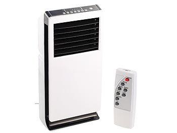 Sichler Haushaltsgeräte Design-Verdunstungs-LuftkÃhler mit Ionisator LW-440, 65 Watt Sichler Haushaltsgeräte LuftkÃhler, -befeuchter und -reiniger mit Ionisator