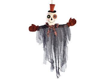Lachender und zitternder Geist Mephisto mit LEDs / Halloween Deko
