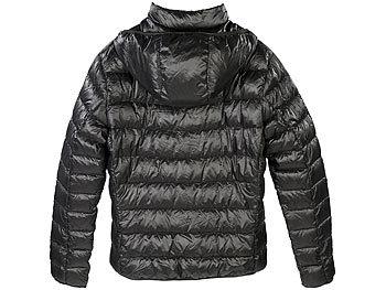 online retailer 10854 62626 PEARL outdoor Daunen Steppjacken: Daunenjacke, schwarz ...