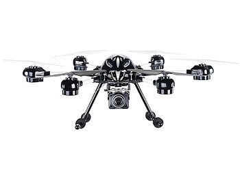 Simulus Hexacopter GH-60.clv mit Kamera, Fernbedienung, Live-View Simulus Hexacopter mit LIVE-Videoübertragung