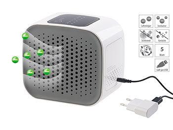 3in1-Design-USB-Luftreiniger, HEPA- & Aktivkohle-Filter, Ionisator / Luftreiniger