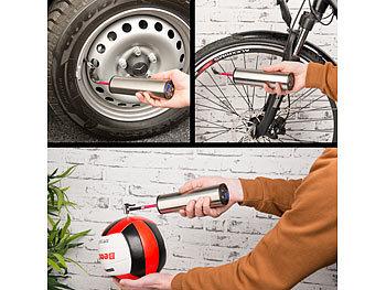 AGT Professional Fahrradpumpe Kompressor: Akku Kompressor