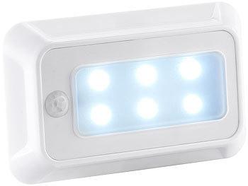 luminea bewegungslicht led nachtlicht mit bewegungs d mmerungs sensor batterie 3er set. Black Bedroom Furniture Sets. Home Design Ideas