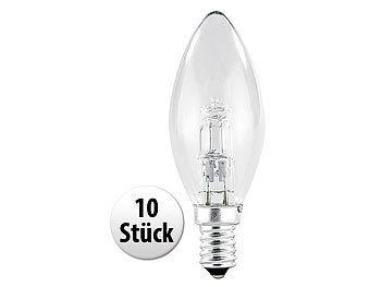 luminea kerzenbirnen halogen kerze e14 28 watt 370. Black Bedroom Furniture Sets. Home Design Ideas
