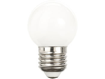 luminea retro led lampe e27 3 watt g45 250 lm wei 5000 k. Black Bedroom Furniture Sets. Home Design Ideas