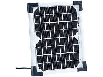 revolt solarmodule mobiles solarpanel mit monokristalliner solarzelle 5 w solarpanel f r. Black Bedroom Furniture Sets. Home Design Ideas