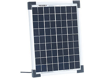 revolt solarpanel f r wohnwagen mobiles solarpanel mit monokristalliner solarzelle 10 w panels. Black Bedroom Furniture Sets. Home Design Ideas