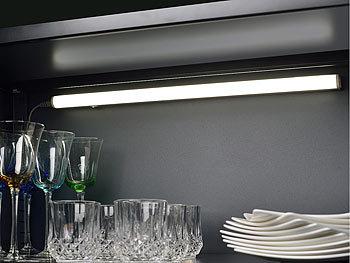 Unterbauleuchte Küche Ohne Kabel | Luminea Led Unterbauleuchte T5 60 Cm Mit Verb St Kabel 4er Set