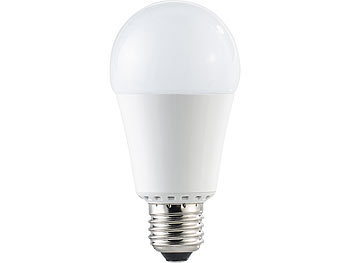 Luminea High-Power-LED-Lampe, E27, 15 Watt, 1.300 Lumen, warmweiß (3000 K), A+ Luminea LED-Tropfen E27 (warmweiß)