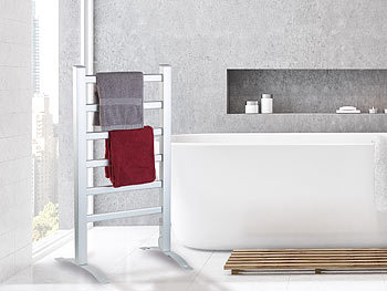 Sichler Badheizung: 2in1-Handtuchwärmer & Heizkörper, 90 ...
