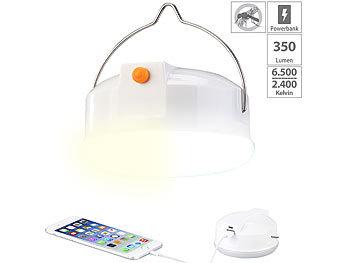 LED 2in1 Campingleuchte Taschenlampe mit heller 1W LED zusammenfaltbar /& dimmbar