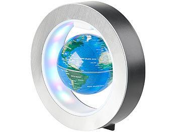 Globus Mit Beleuchtung | Infactory Schwebender Globus Freischwebender 10 Cm Globus In Magnet