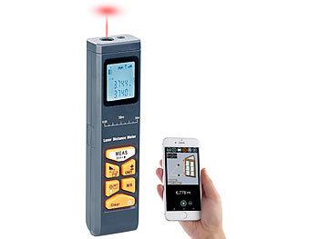 Infrarot Entfernungsmesser Genauigkeit : Agt lasermessgerät: laser entfernungsmesser mit lcd & bluetooth