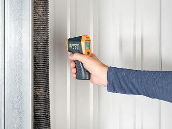 Agt temperaturmesser: profi infrarot thermometer mit laser 50 bis